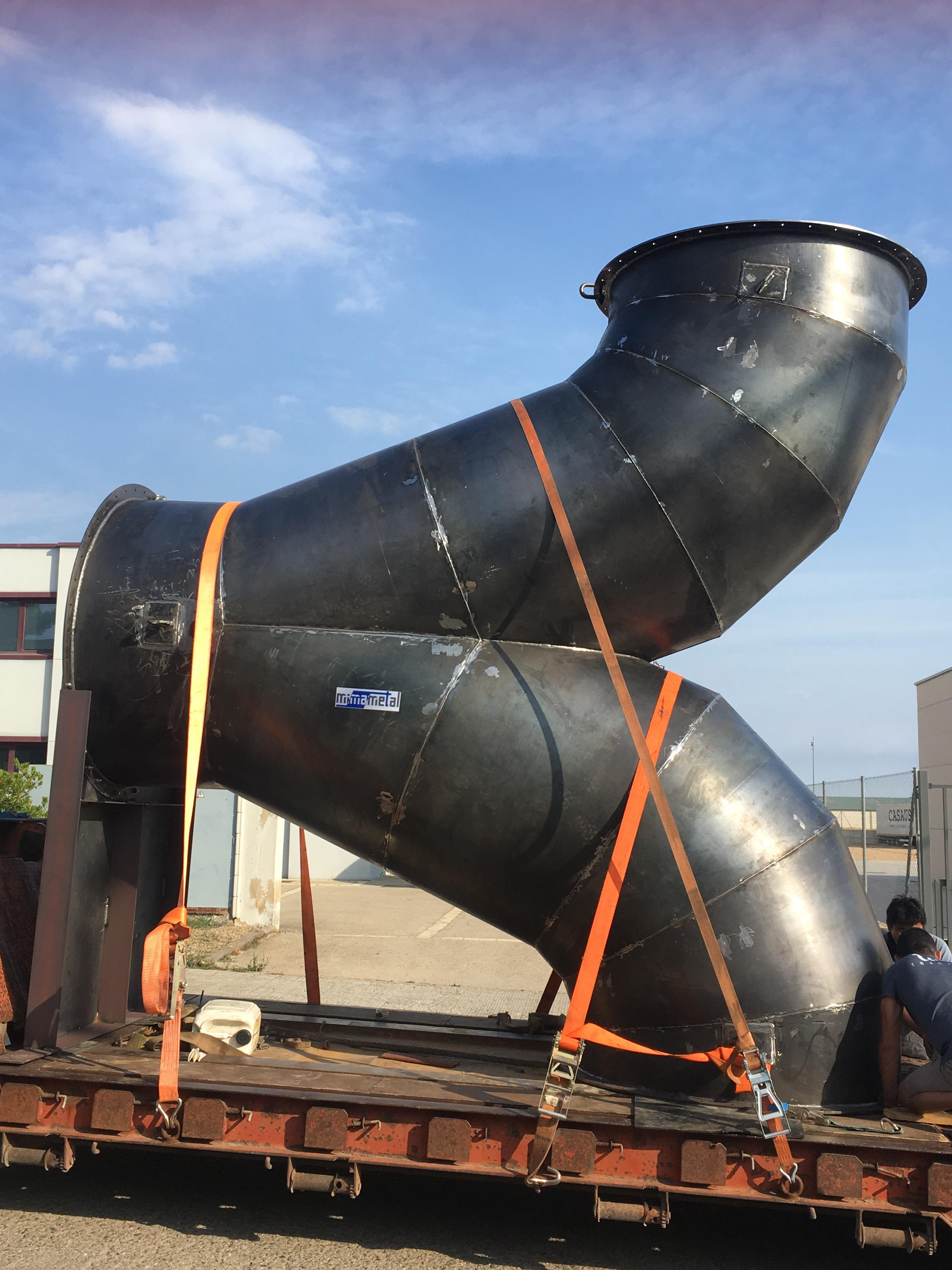 Servicio de calderería industrial